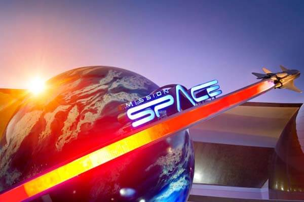 Mission: SPACE® Attraction (Orange)