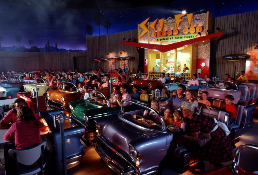 Orlando Car Show >> Sci-Fi Dine-In Theater Restaurant | Disney's Hollywood ...